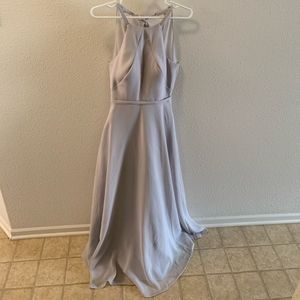 Sorella Vita Gray Bridesmaid Dress
